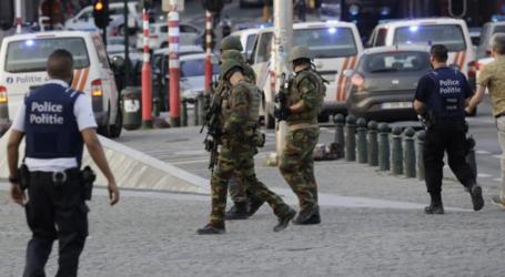 فيديو : الشرطة البلجيكية تقتل ارهابيا كان يرتدي حزاما ناسفا قرب محطة القطارات الرئيسة