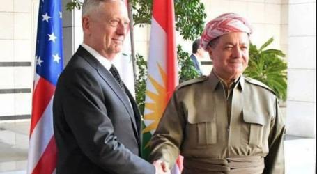 ماتيس يصل اربيل والبزراني يرفض دعوته لتاجيل الاستفتاء على انفصال اقليم كردستان