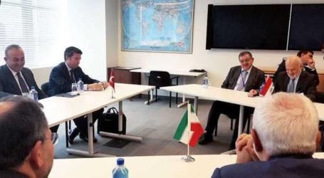 وزراء خارجية ايران وتركيا والعراق يصدرون بيانا يؤكدون رفضهم لاستفتاء الانفصال ويحذرون من من مخاطر وقوع نزاعات مسلحة