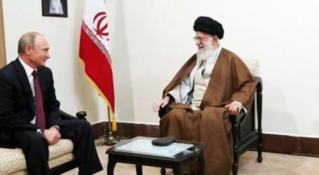 قائد الثورة الاسلامية اية الله خامنئي لدى استقباله بوتين : التعاون بين ايران وروسيا قادر على تهميش امريكا