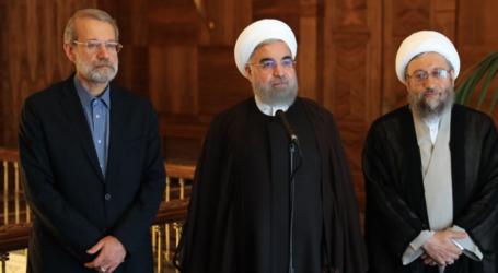 الرئيس روحاني :  اميركا واذنابها يعدون لمخططات جديدة في المنطقة بعد فشل مؤامراتهم