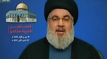 السيد نصر الله : قرار ترامب اعتداء على مليار وخمسمائة الف مسلم والرد المناسب هو الانتفاضة وتصعيد العمل العسكري ضد اسرائيل