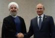 الرئيس روحاني خلال لقائه نظيره الروسي بوتين : بتنا نلمس نتائج التعاون والتنسيق مع روسيا في تحقق امن المنطقة