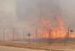 """مستوطنات غلاف """" قطاع غزة """" تحترق بفعل """" الطائرات الورقية """" الفلسطينية الحارقة"""
