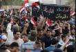 العبادي في البصرة بعد ازدياد موجة التظاهرات والاحتجاجات بسبب تردي الخدمات وانتشار البطالة واعتصام المحتجين امام حقول النفط