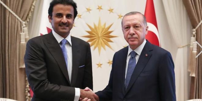 قطر تدعم الاقتصاد التركي ب 15 مليار دولار بشكل استثمارات وودائع وضمانات بعد لقاء قمة بين تميم و اردوغان
