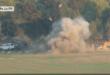"""كتائب القسام تنشر """" فيديو """" يظهر استهداف مقاتليها لحافلة اسرائيلية تحمل جنودا"""