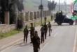 فيديو : الحشد يمنع القوات الامريكية من اجراء جولة ميدانية في الموصل ويقطع عليها الطريق