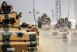 القوات التركية تعبر الحدود مع سوريا لنجدة ارهابيي جبهة النصرة بعد سيطرة الجيش السوري على شيخون