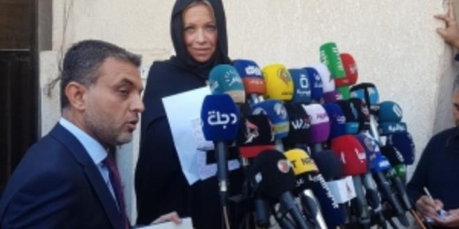 ممثلة الامم المتحدة بلاسخارت تلتقي المرجع الديني السيد السيستاني : العراق لن يكون ساحة للتصفيات الدولية
