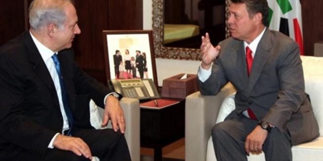 نتيناهو يكشف : تساعد الملك الأردني عبد الله الثاني بطرق سرية خاصة ولدينا مصلحة قوية بالحفاظ على حكمه