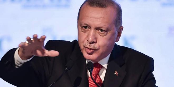 الرئيس التركي يهاجم بقسوة نظيره الفرنسي : على ماكرون فحص حالة الموت الدماغي لديه