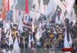 انطلاق مسيرات حاشدة في بغداد منددة بالعقوبات الأميركية ضد الرموز الوطنية وقادة المقاومة والحشد الشعبي