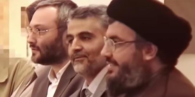 فيديو نادر يظهر الشهيد قاسم سليماني مع الامين العام لحزب الله والشهيد عماد مغنية