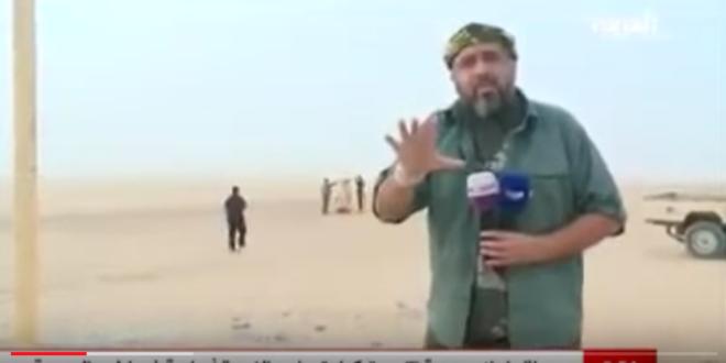 """مذيعة """" قناة العربية """" الممولة من المخابرات السعودية تنفجر ضاحكة على الهواء في نشرة الاخبار بسبب تقرير مراسل القناة في اليمن الذي"""