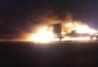 """المقاومة العراقية تهاجم رتلا يحمل """" همرات """" ومواد للقوات الاميركية في الطريق بين المثنى والقادسية"""