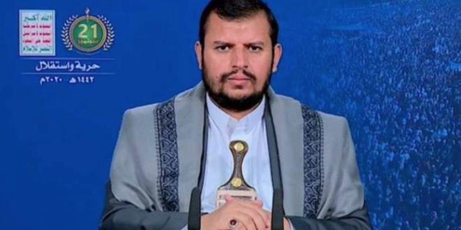 عبد الملك الحوثي : الامريكي يدفع اداواته الغبية الحمقاء البقرة الحلوب السعودية والماعز الحلوب الامارات للعدوان على شعب اليمن الابي
