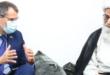 المرجع الديني الشيخ بشير النجفي لدى استقباله سفير الاتحاد الاوروبي : نرفض وندين رفع علم المثليين فوق مقر الاتحاد الاوروبي في العراق