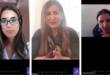 """"""" عهدية احمد """" رئيسة جمعية الصحفيين البحرينية احدى الناشطات في المحفل الماسوني تجري حوارا عبر الفيديو مع نائبة رئيس بلدية القدس"""