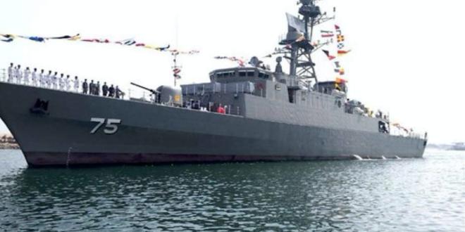 """الجيش الايراني يعلن انضمام  """" المدمرة دنا """" المزودة بصواريخ متطورة  لاسطول القوة البحرية"""