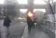 13 شهيدا و3جرحى من افراد الجيش السوري بتفجير ارهابي استهدف حافلتهم في العاصمة دمشق