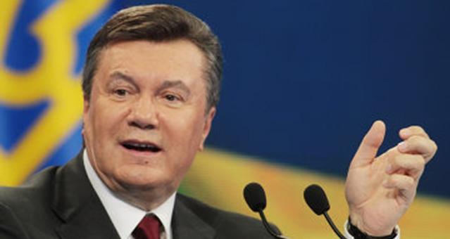 """"""" يانكوفيتش """" يصف """" المعارضة """" في """" كييف """" بانهم متطرفون فاشيون استولوا على السلطة"""