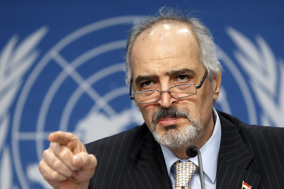 نائب وزير الخارجية السوري الجعفري :  استمرار الاحتلال الإسرائيلي للأراضي العربية يهدد أمن المنطقة واستقرارها والسلم والأمن الدوليين