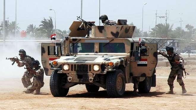 قيادة عمليات الانبار تعلن تطهير منطقة البوعلي الجاسم في الانبار من الارهابين