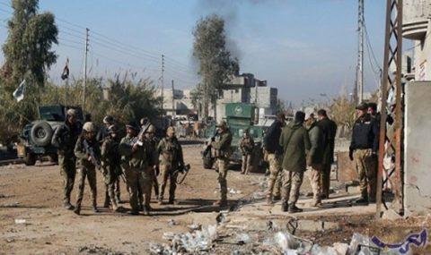 الموصل :  تحرير معمل الأدوية وحي العربي الجديد وقتل ٩٠ ارهابيا في قصف جوي استهدفهم في حي السحاجي
