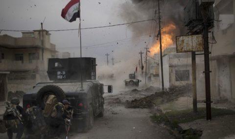 العبادي يعلن بدء تحرك القوات العراقية في الجانب الايمن من الموصل لتطهيره من داعش