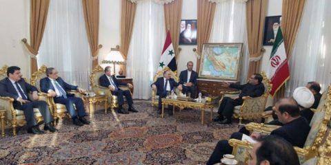 شامخاني يشدد على التصدي لمخططات حرف مسار التعاون الروسي الايراني السوري في مواجهة الارهاب