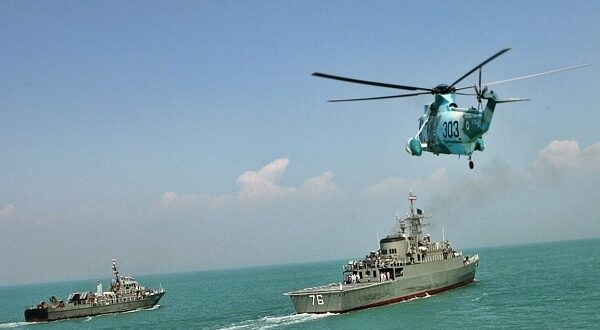 طهران تعلن عن مناورات بحرية ايرانية روسية وصينية في بحر عمان وشمال المحيط الهندي